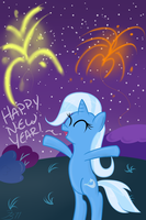 Happy New Year by MikorutheHedgehog