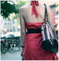 .lady in red. by dorosblack