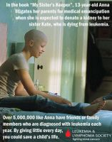 Leukemia Awareness Poster 3 - My Sister's Keeper by SuperSmash3DS
