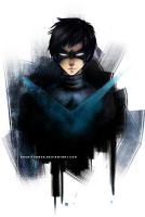 nightwing by rachityrach