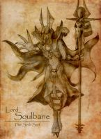 Lord Soulbane, the Seth Serf - Concept by KimyTheAnubisKeeper