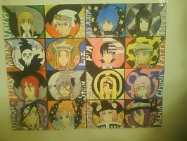 Soul Eater Tessellation by Burgerlicious