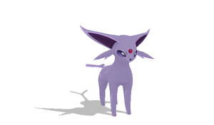 Espeon + DL by Valforwing