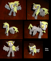 Clay Derpy Hooves by Pika-Robo
