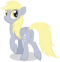 Derpy by LittleHybridShila