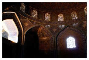Sheikh Lotfollah Mosque 4 by rad-19