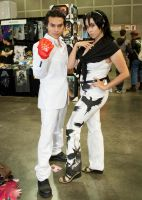 Kazuya and Jun  - Comikaze by EriTesPhoto