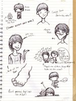 Tegan and Sara Doodle Dump 2 by maleth
