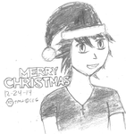 A Quick KT Cannon Christmas Sketch by nxgnetwork
