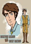 Rocky Raccoon Character Concept - Rockford by lcannizzaro