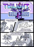 Twilight For You - Introduction Page 1 by GSphere