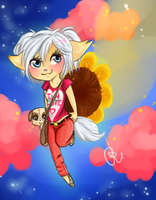 :COM: Sunflower hero by chibi-roll