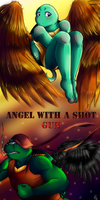 Angel with a Shot Gun by AmeUchikina-Chan