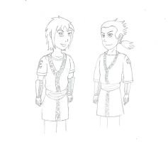 Naruto: The Crow Twins of the Land of Iron by R-Zion