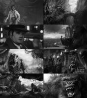 King Kong Tumbnail Studies by Andantonius