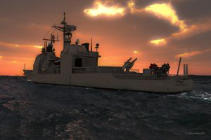 USS Valley Forge CG-50 by 2753Productions