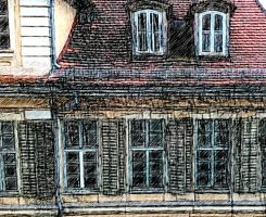 looking out of my window by Mittelfranke