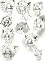 Koats in Different Styles. by Wagoflabo