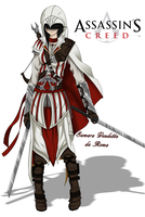 Assassin's Creed OC by Shirogahara