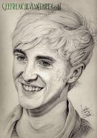 Tom Felton Portrait by GeeFreak