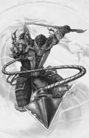 Scorpion_MK_grayscale by AmosRachman