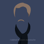 I defend Watson's moustache by InvisibleJune