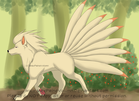 Whiplash the Ninetails by MaxPaineVolumn