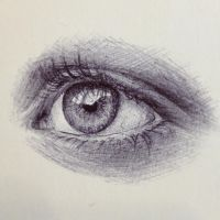 Ballpoint Eye by ShadowSeason