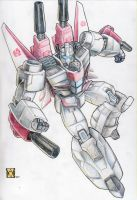Jetfire - with color by beamer