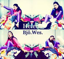Colored clothes by Helenabw