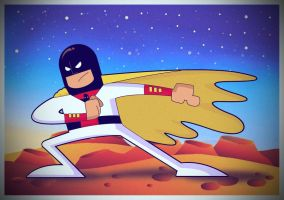 Space Ghost by ralvarias