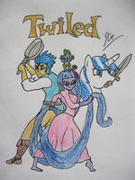 TWILED (My Little Tangled) by SteGhost