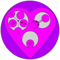 Circular Gallifreyan Valentine by Grey-vs-Blue