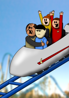 Trek Roller Coaster by BJ-O23