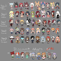 BIG BATCH ADOPTS [CLOSED] by winryie-adopts