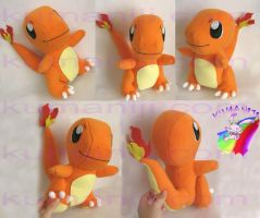 Charmander plush by chocoloverx3