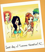 Summer Vacation for cherryavenger98 by EA-Senpai