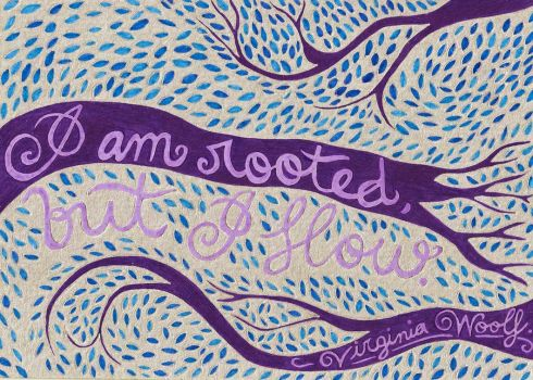 I am Rooted, but I Flow by flying-never-fallen