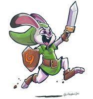 The Legend of Judy Hopps by SupaCrikeyDave