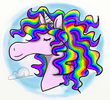''Unicorn'' by FluffyCloud3