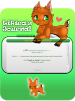 Com: Litica Journal Skin by bonnika