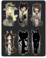 adoptables04 : ( CLOSED ) by junkadoptables