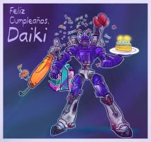 A Galvatron for daikithewolf by Kna