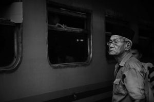 ..waiting for the train'.. by ditya