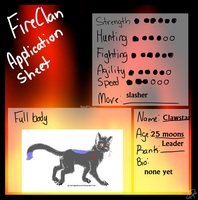 Fireclan Leader by Official-Fallblossom