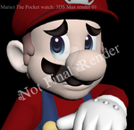 (Mario)The Pocket Watch: 3DS Max Render01 by Marios-Friend9