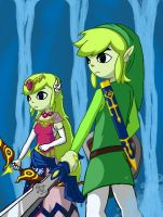 Heroic Princess and The Wind Waker by PATUX3T