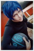 Aomine Daiki - The Street of Rage by KenkenTiger