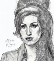 Amy Winehouse by RioghnachsReign