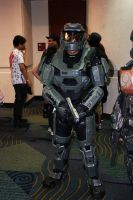 Halo Reach MKV suit made from foam by Hyperballistik